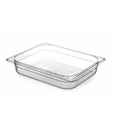 Hendi Gastronormbak 1/2 - 65 mm - Tritan BPA vrij