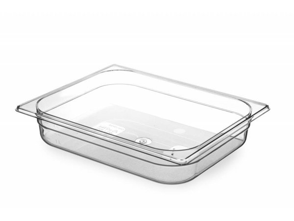 Hendi Gastronormbak Hälfte - 65 mm - BPA-frei Tritan
