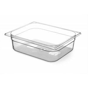 Hendi Gastronormbak half - 100 mm - BPA-free Tritan