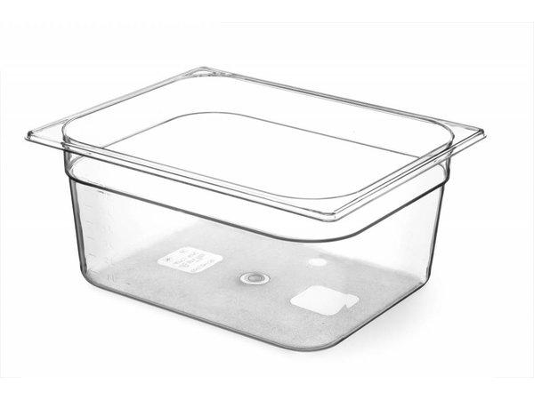 Hendi Gastronormbak Hälfte - 150 mm - BPA-frei Tritan