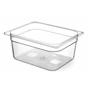 Hendi Gastronormbak Hälfte - 200 mm - BPA-frei Tritan