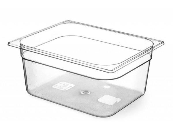 Hendi Gastronormbak 1/2 - 200 mm - Tritan BPA vrij
