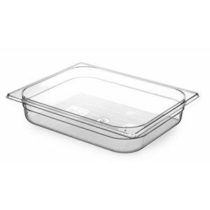 Hendi Gastronormbak 1/1 - 65 mm - BPA-frei Tritan