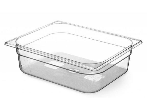 Hendi Gastronormbak 1/1 - 100 mm - BPA-frei Tritan