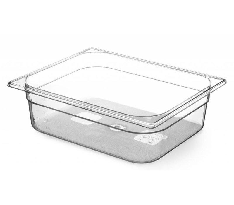 Hendi Gastronormbak 1/1 - 100 mm - Tritan BPA vrij