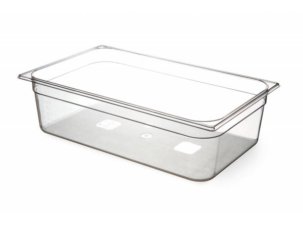 Hendi Gastronormbak 1/1 - 150 mm - BPA-frei Tritan
