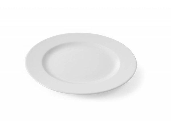 Hendi Flat plate - 30 cm - Porcelain - Delta