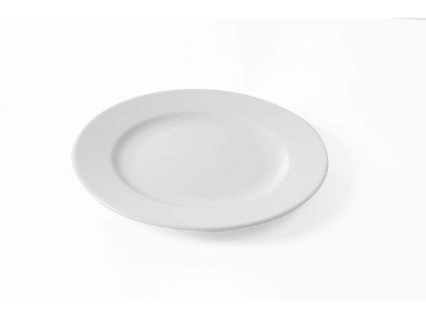 Hendi Flat plate - 27 cm - Porcelain - Delta