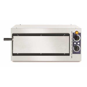Hendi Pizza-Ofen Grund Nur 40 | 1600W | 568x430x (H) 280mm