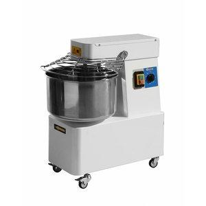 Hendi Teigknetmaschine mit festen Schale - 32 Liter - Dough 25 KG