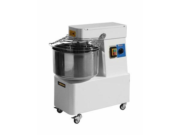 Hendi Deegkneedmachine met gefixeerde kom - 32 Liter - Deeg 25 KG