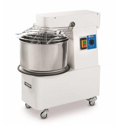 Hendi Teigknetmaschine mit festen Schale - 20 Liter - Dough 17KG