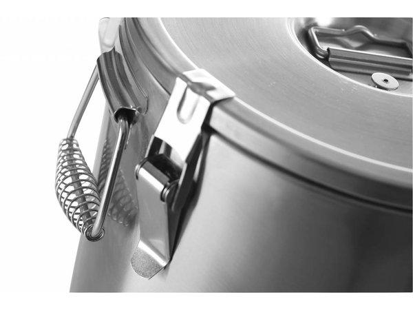Hendi Gamel RVS | Isoliert | 20 Liter | Ø320x (H) 310mm