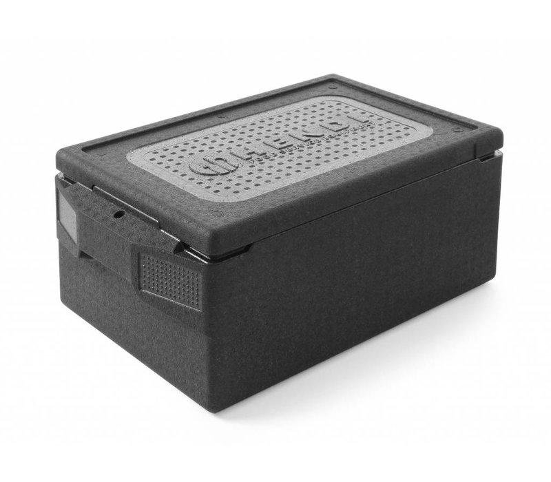 Hendi Thermobox EVP 1 / 1GN | Profi Line | -20 ° C bis + 110 ° C | 674x400x (H) 287mm