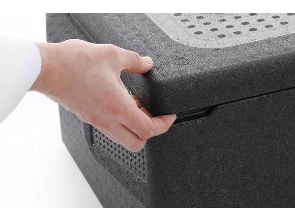 Hendi Thermobox EPP 1/1GN | Profiline | -20°C tot +110°C | 674x400x(H)287mm