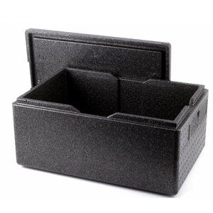 Hendi Thermobox | 53 Liter | -20 ° C bis + 110 ° C | 685x485x (H) 260mm