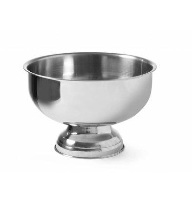 Hendi Champagner-Kühler Round - SS-Wirtschafts - 9,5 Liter - Ø35 cm x 23 (H) cm