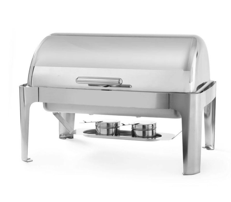 Hendi Chafing Dish Rolltop   Stainless steel   GN 1/1   9 Liter   660x490x (H) 460mm