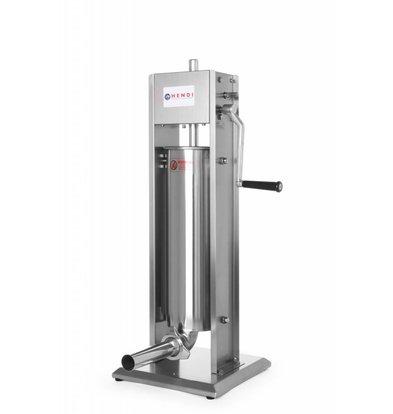Hendi Worstenvul Machine Profi Line - 7 Liter