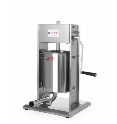 Hendi Worstenvul Machine Profi Line - 10 Liter