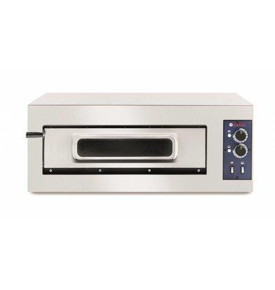 Hendi Pizza-Ofen Nur Basic | Edelstahl | 5000W | 915x690x (H) 355 mm