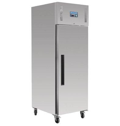 Polar Stainless steel Freezer Bakker Size - 850 Liter - 74x90x (h) 210cm - 18x 600x400 mm