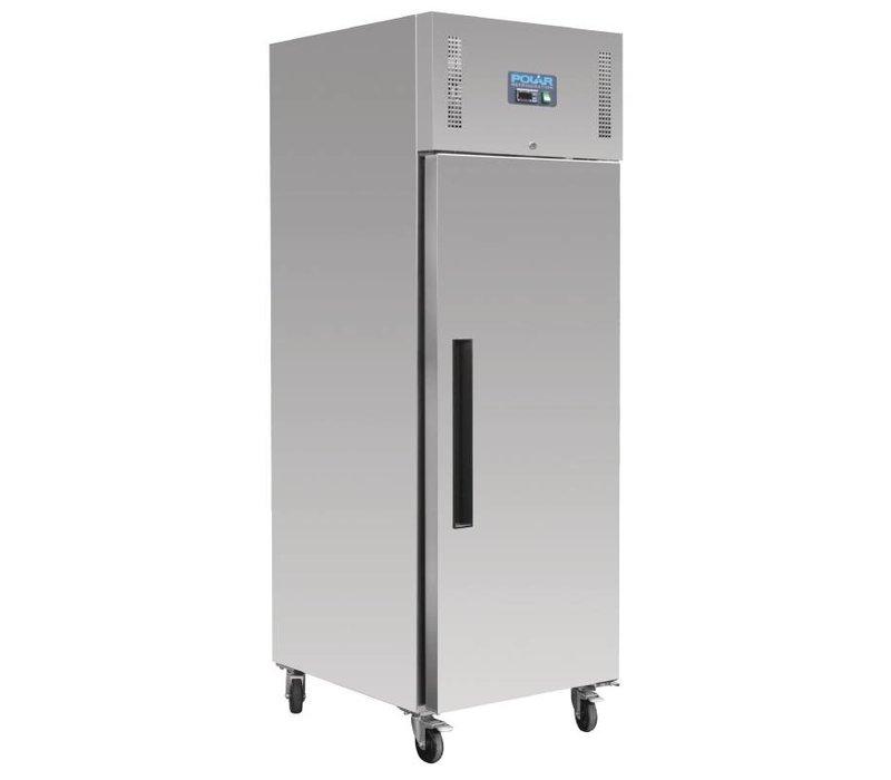 Polar Stainless steel Freezer Bakker Size - 850 liters - 74x90x (h) 210cm - 18x 600x400 mm