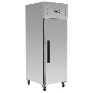 Polar Edelstahl Kühlschrank - Bakker Größe - 850 Liter - 74x90x (h) 210cm - 18 x 600x400 mm