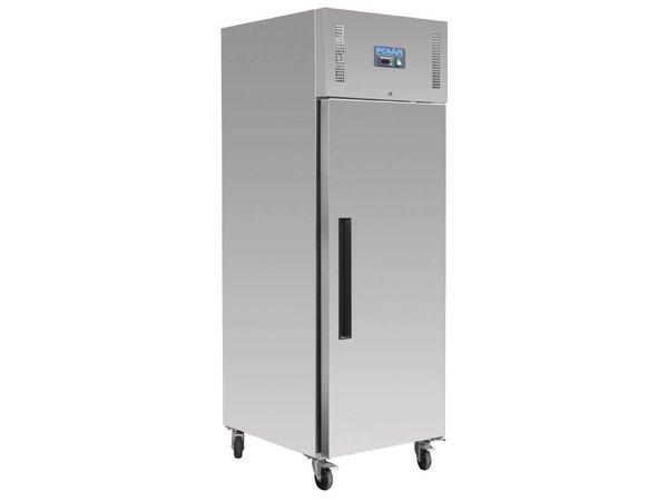 Polar Stainless Steel Refrigerator - Bakker Size - 850 Liter - 74x90x (h) 210cm - 18 x 600x400 mm