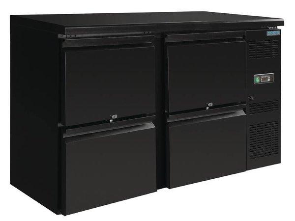 Polar Blind Drinks chiller 4 drawers - 349 Liter - 860x1460x510mm