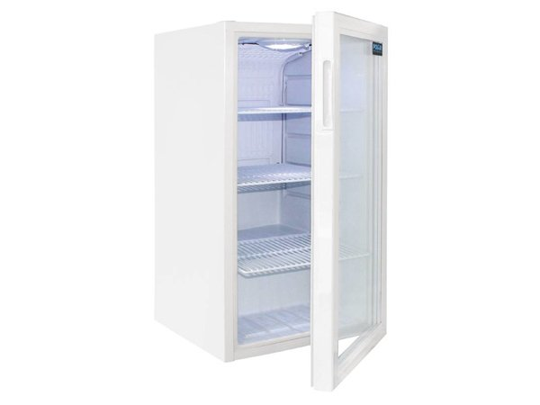 Polar Refrigerator with a glass door, Cans Fridge - 88 Litres - 430x480x (H) 820mm