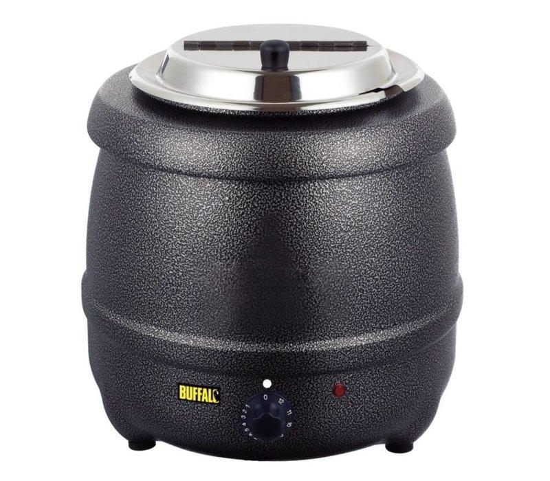 XXLselect Elektrische Suppenkocher - Grau - 10 Liter - XXL Angebot