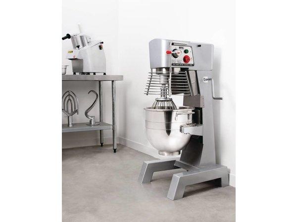 XXLselect Planet Mixer | 30 Liter | 3 Geschwindigkeiten | Gewerbe | 1,5 kW | 540x570x (H) 1030 mm
