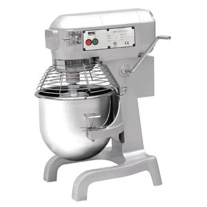 XXLselect Planet Mixer | 20 Liter | 3 Speeds | 1.1 kW | Stainless Steel Bowl | Powerful Engine | 558x558x (H) 794mm