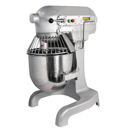 Buffalo Planet Mixer | 10 Liter | 3 Geschwindigkeiten | 0.55 kW | Edelstahl-Schüssel | Leistungsfähiger Motor | 395x395x (H) 610 mm