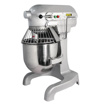 Buffalo Planet Mixer | 10 Liter | 3 Speeds | 0:55 kW | Stainless Steel Bowl | Powerful Engine | 395x395x (H) 610 mm