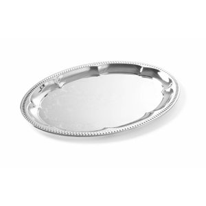 Hendi Partyplatte Oval | Chrome | 455x340mm