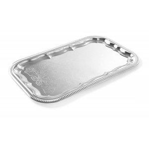 Hendi Party Platter   GN 1/1   Chrome   530x325mm