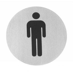 Hendi Child Men stainless steel door - 75 mm