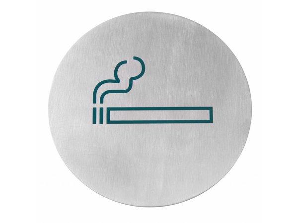 Hendi Child stainless steel door Smoking - green 160 mm