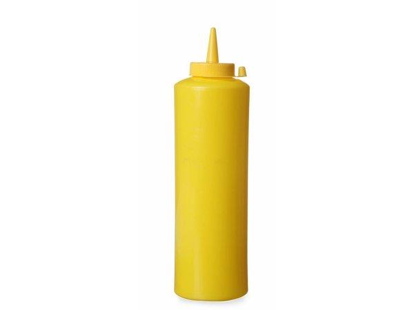 Hendi Dispenser bottle Yellow   35 cl   PE cap PC   55x (H) 205mm