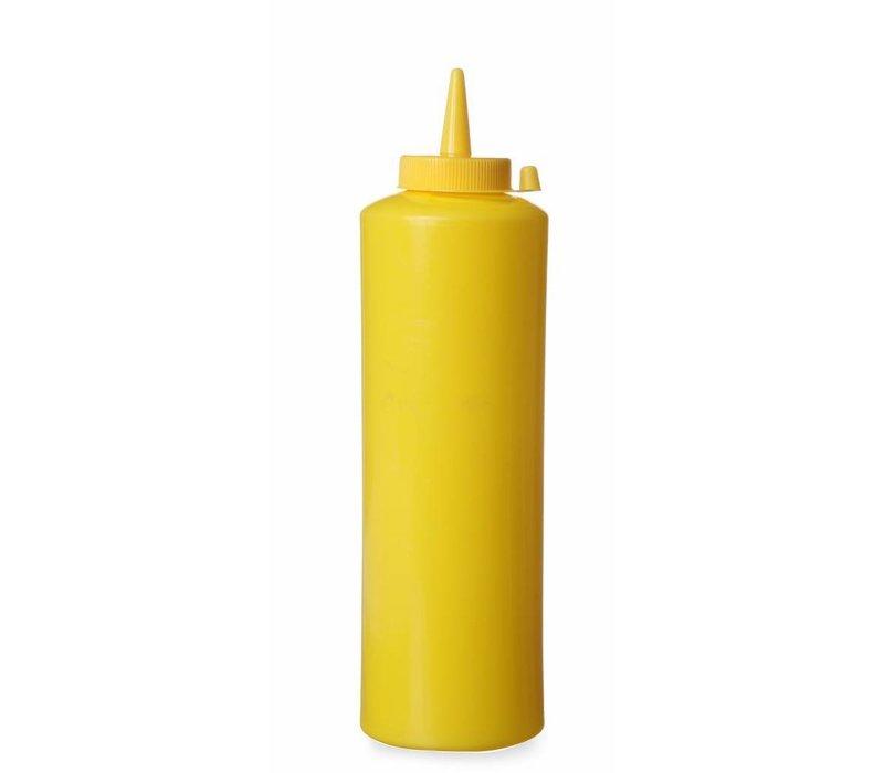 Hendi Dispenser Flacon Geel | 35 cl | PE dop PC | 55x(h)205mm