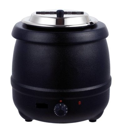 Bistro Electric Soup Kettle 10 Liter Black - XXL Offer