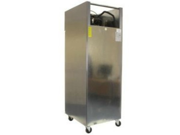 Polar Stainless Steel Refrigerator Catering on Wheels - 2/1 GN - 600 Liter - HEAVY DUTY - 68x83x (h) 199cm