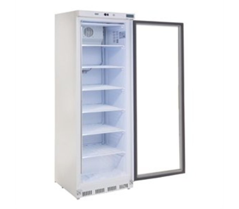 polar gefrierschrank mit glast r 365 liter 60x60x h. Black Bedroom Furniture Sets. Home Design Ideas