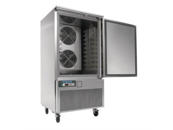 Polar Blast Chiller / Blast chiller / Quick Freezer 240 Liters - 10 x 1 / 1GN