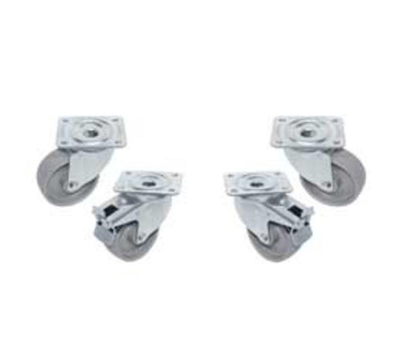 Diamond 4 wheels for the cooling workbench Diamond