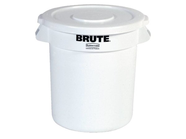 XXLselect Rubbermaid Container White | Ø49,5x (H) 58cm | 76 Liter