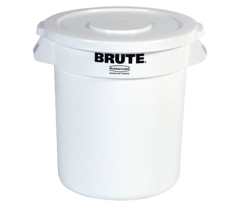 XXLselect Rubbermaid Container White | Ø56x (H) 69cm | 121 Liter