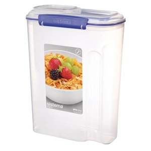 XXLselect Clip-it Cereals | Stackable | 22x11,5x (H) 28,8cm | 4.2 Liter